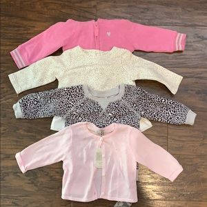 6 month sweater/sweat shirt bundle